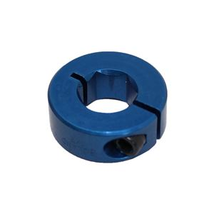 "Picture of 1/2"" Hex Shaft Collar, Blue (fc18-105)"