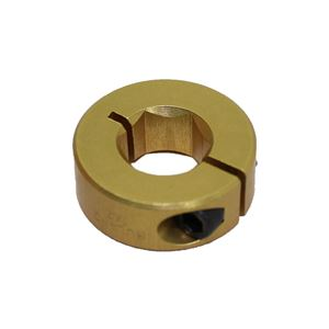 "Picture of 1/2"" Hex Shaft Collar, Gold (fc18-106)"