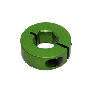 """Picture of 1/2"""" Hex Shaft Collar, Green (fc18-107)"""