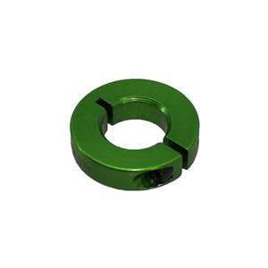 """Picture of 1/2"""" Thin Shaft Collar, Green (fc18-125)"""