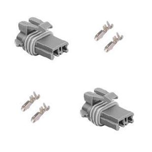 Picture of Denso window motor connector 2 housings & 4 terminals (fc18-017)