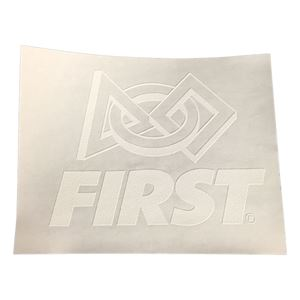 Picture of Iron on FIRST logo, pack of 8 (fc18-020)