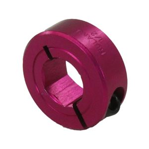 """Picture of 1/2"""" Hex Shaft Collar, Pink (fc18-110)"""