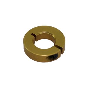 """Picture of 1/2"""" Thin Shaft Collar, Gold (fc-ENCL25-8-A, Gold)"""