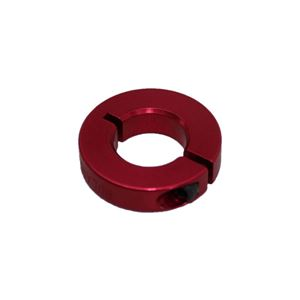 "Picture of 1/2"" Thin Shaft Collar, Red (fc-ENCL25-8-A, Red)"
