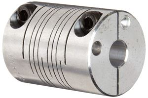 """Picture of 3/8"""" x 3/8"""" Beam Coupling (fc-PCR16-6-6-A)"""