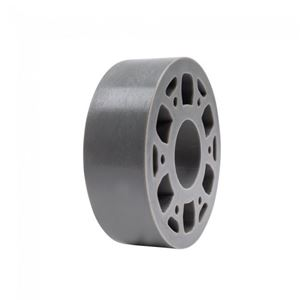 "Picture of Straight Flex Wheel 3""OD x 1"" WD, 1-1/8"" ID, 40A (fc-217-6448)"