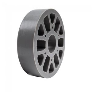 "Picture of Straight Flex Wheel 4""OD x 1"" WD, 1-1/8"" ID, 40A (fc-217-6451)"