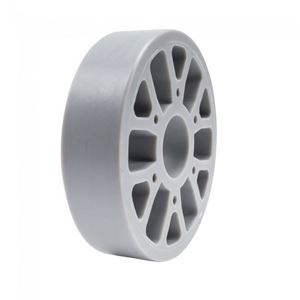"Picture of Straight Flex Wheel 4""OD x 1"" WD, 1-1/8"" ID, 30A (fc-217-6450)"