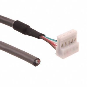 Picture of AMT103 Cable Assembly, 5-pin, 5 x 22AWG, 6 ft. (CUI-3934-6FT)