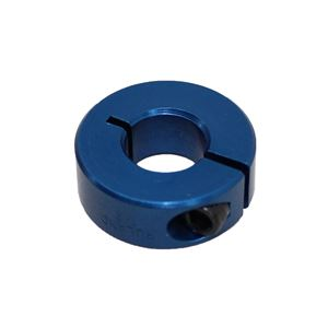 """Picture of 1/2"""" Shaft Collar, Blue (CL-8-A, Blue)"""