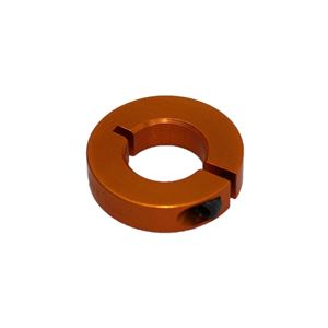 "Picture of 1/2"" Thin Shaft Collar, Orange (ENCL25-8-A, Orange)"