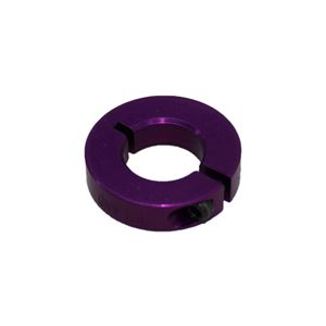 """Picture of 1/2"""" Thin Shaft Collar, Purple (ENCL25-8-A, Purple)"""