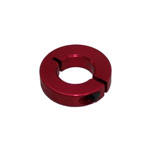 "Picture of 1/2"" Thin Shaft Collar, Red (ENCL25-8-A, Red)"