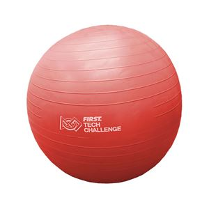 Picture of Exercise Ball with Pump, Red (am-3363R)