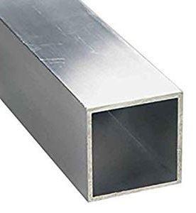 """Picture of Aluminum Square Tubing 1""""x1""""x1/16""""x4' (SquareAlum)"""