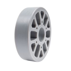 "Picture of Straight Flex Wheel 4""OD x 1"" WD, 1-1/8"" ID, 30A (217-6450)"