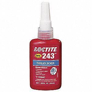Picture of Loctite 243 threadlocker, blue (medium strength), 50ml (1329467)