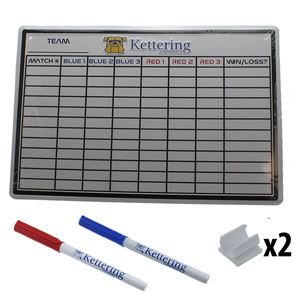 Picture of Kettering Whiteboard Kit (Match Info)